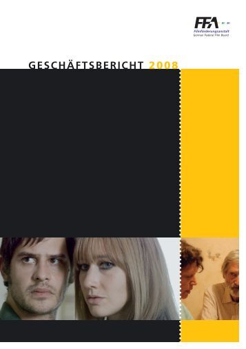 GESCHÄFTSBERICHT 2008 - FFA