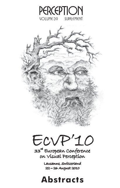 Perception ECVP 2010 abstract supplement