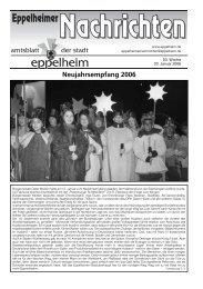 3. Woche - Eppelheim
