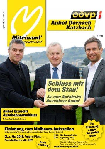Miteinand' - ÖVP Dornach