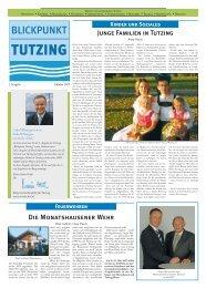 Blickpunkt Tutzing Ausgabe 1 - CSU