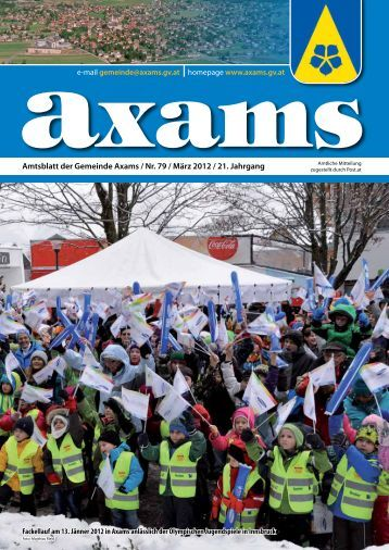 (4,17 MB) - .PDF - Gemeinde Axams - Land Tirol