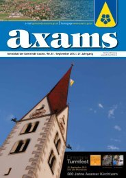 (5,77 MB) - .PDF - Gemeinde Axams - Land Tirol
