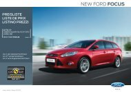 NEW FORD FOCUS - Garage Leu