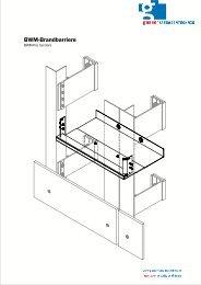 Bwm-Brandbarriere - Gasser Fassadentechnik