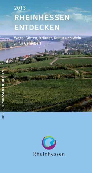 RHEINHESSEN ENTDECKEN - Deutsches Weininstitut