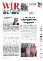Seniorenzeitung 2 - 2012 - Stadt Bruchköbel
