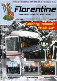 "Florentine ""Infoblatt - KreisFeuerwehrVerband Passau"