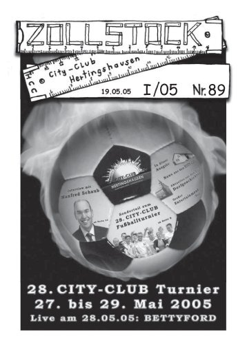 ZOLLSTOCK Nr. 89 - City-Club Hertingshausen