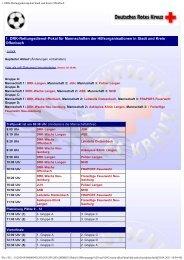 Spielplan 2004
