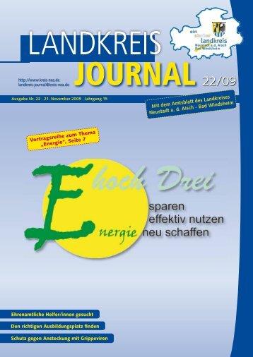 Mit dem Amtsblatt des Landkreises Neustadt a. d. Aisch - Bad ...