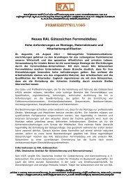 download - Gütegemeinschaft Fernmeldebau eV