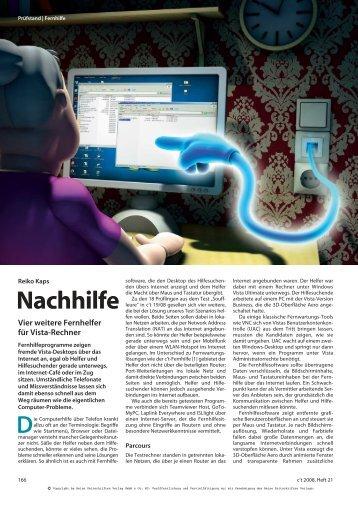 Nachhilfe - based on IT
