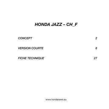 HONDA JAZZ – CH_F - Garage & Carrosserie Bruttin Frères SA