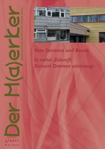 Herbst 2011 - Waldorfschule Märkisches Viertel
