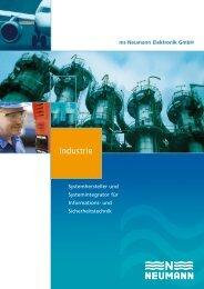 Industrie-Broschüre (PDF) - Neumann Elektronik