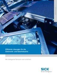 Effiziente Lösungen für die Elektronik- und Solarindustrie - Mysick.com