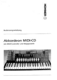 Midi CD Manual - Hohner