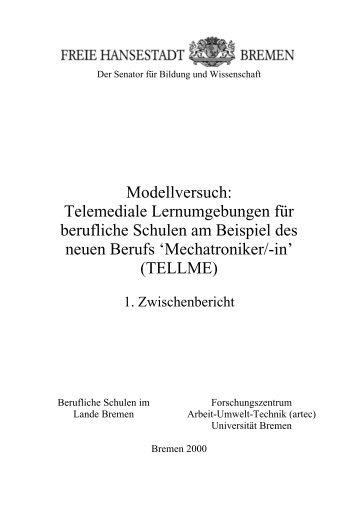 1. TellMe - artecLab - Universität Bremen