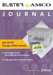 Journal 03. 2003 - Elster-Instromet