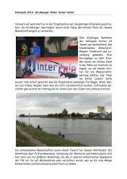 Interpole 2012: Kirchberger hinter ferner liefen Schwarz auf weiß ...