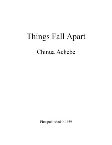the joy luck club amy tan things fall apart chinua achebe a things fall apart chinua achebe