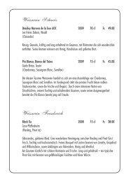 Wein-Karte