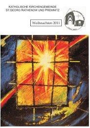 2011 - 04 Weihnachten - Katholische Pfarrgemeinde Sankt Georg ...