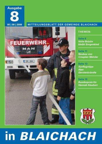 in bLAiCHACH - Gemeindeverwaltung Blaichach im Allgäu ...