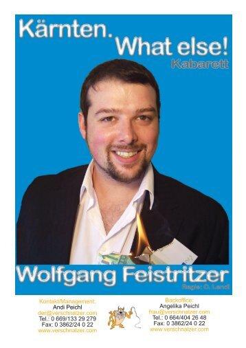 Wolfgang Feistritzer - Andi Peichl