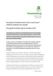 Frankfurt am Main, - Land & Genuss