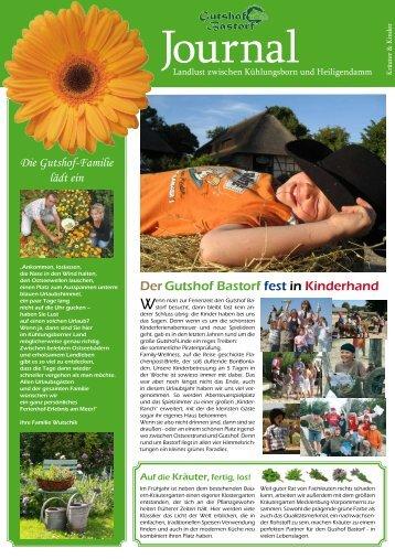DerGutshof Bastorf fest in Kinderhand