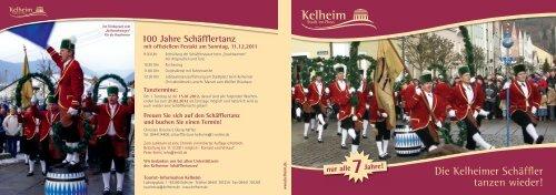 Die Kelheimer Schäffler tanzen wieder!