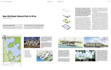 New Silk Road Cultural Park in Xi'an - Bauwelt