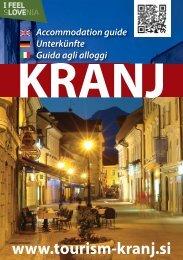 Kranjè - Zavod za turizem Kranj