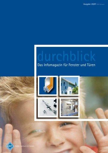 Das Infomagazin für Fenster und Türen - VEKA