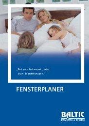 FENSTERPLANER - Baltic