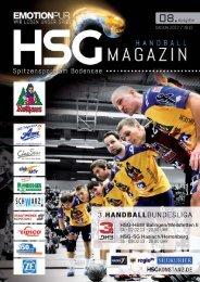 HSG-HBW Balingen/Weilstetten II Ausgabe HSG ... - HSG Konstanz