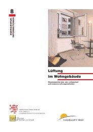 Energiesparinformationen Nr. 8 - Bayerwald Fenster & Haustüren