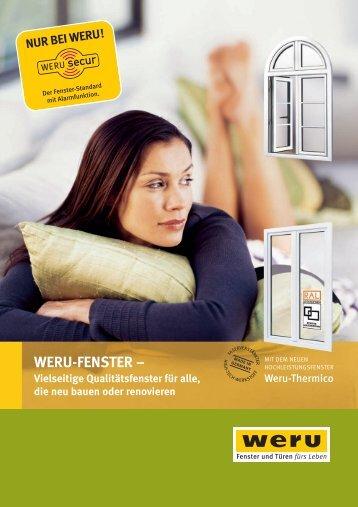 WERU-FENSTER – - Bredok