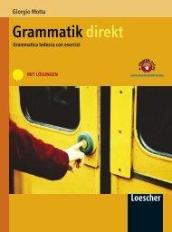 Grammatik direkt mit Lösungen - Scuolabook