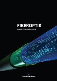 FIBEROPTIK - TELEDAN-WITRONIC