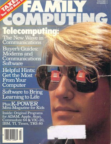 Mar. 1985 - Family Computing and K-Power Magazine Archives