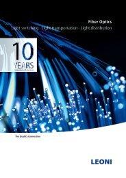 Fiber Optics, Light switching · Light transportation - LEONI Business ...