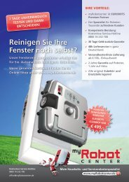 Produktflyer - Fensterputzroboter CLEANBOT W28 - myRobotcenter