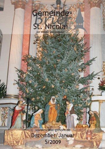 Gemeinde- - St. Nicolai Kirche