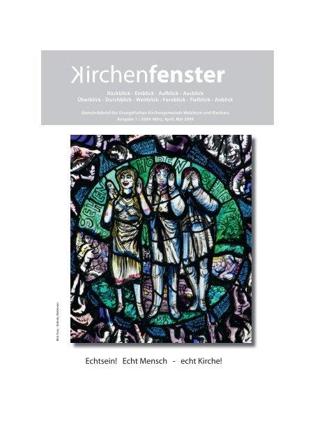 2009 1 Evangelische Kirchengemeinde Welzheim