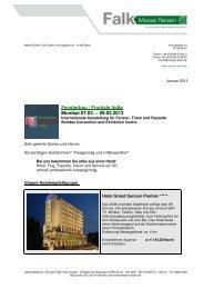 Fensterbau, Frontale 07.-09.03.2013 - Messe Reisen Falk