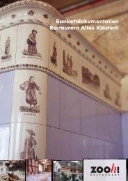 im Restaurant Altes Klösterli! - Gastroplanet.ch