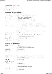 Stellenangebot - Achenbach Fensterbau GmbH